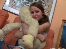 My18Teens: Anfisa amazes her toy with some heated stripteasevideo